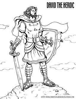 David Saul Coloring Pages http://www.christian-resources-today.com/free-bible-coloring-pages.html