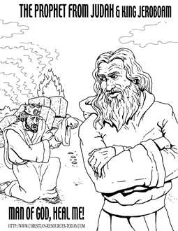 Josiah Bible Story Coloring Pages http://printablecolouringpages.co.uk/?s=Josiah&page=1